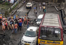 One dead, Several Feared Trapped After A Bridge Collapses In South Kolkata