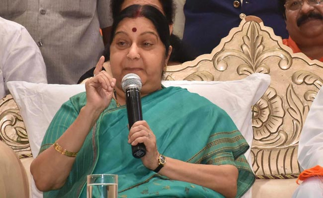 NO Pak Citizen or Soldier was Killed By Air strike in Balakot: Sushma Swaraj