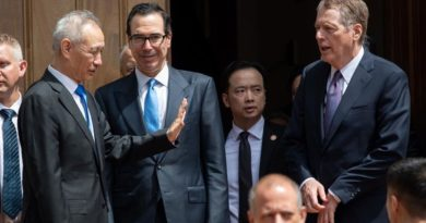 U .S, China Trade Talks Ended minus Any Agreement: China Says Talks Have Not Broken Down