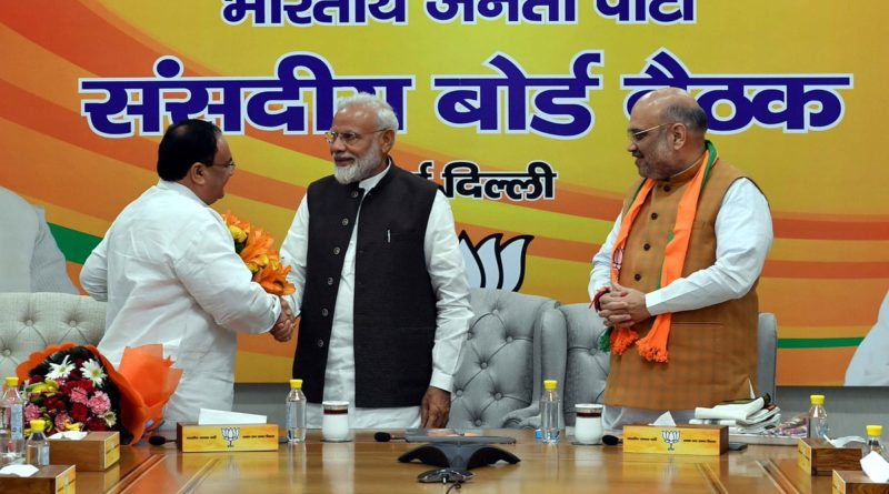 NADDA Appointed BJP's National Working President: Amit Shah Will Continue as Its National President