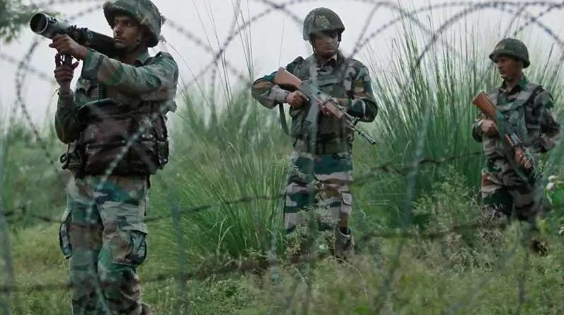 INDIAN Army destroys 4 terror launch pads: killing several   Pak soldiers in POK