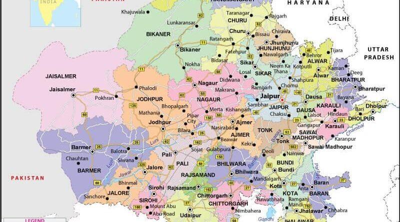 8 Rajasthan districts put under night curfew to contain ncoronavirus