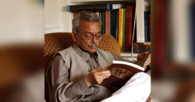 SHAMSUR Rehman Faruqui , renowned  Urdu poet, critic, passes away
