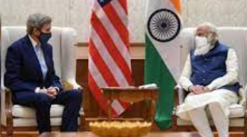 Special Presidential Envoy for Climate, John Kerry Visits  India