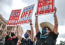 American Women Protests Against Harsh Abortion Law